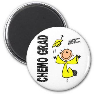 Testicular Cancer CHEMO GRAD 1 Magnet