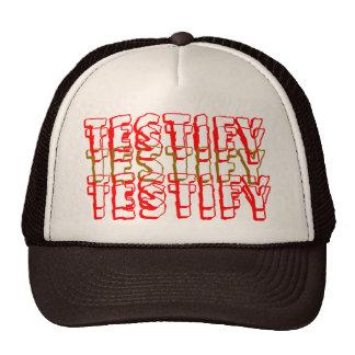TESTIFY CAP