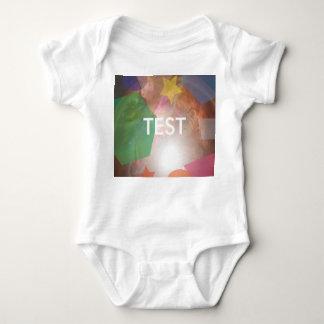 testing geos baby bodysuit