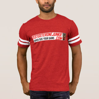 Testosterone Junkie & Chesterfield Panthers Tee