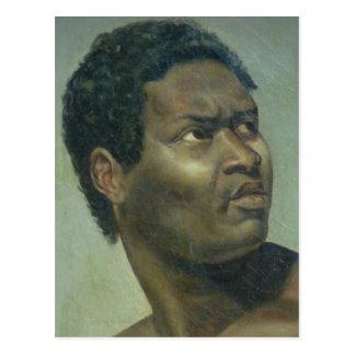 Tête de Nègre (Head of a Negro) by Gros Postcard