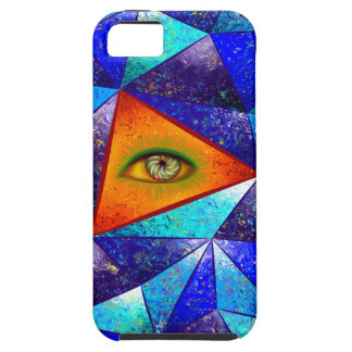 Tethrous V1 - watching triangle Case For The iPhone 5