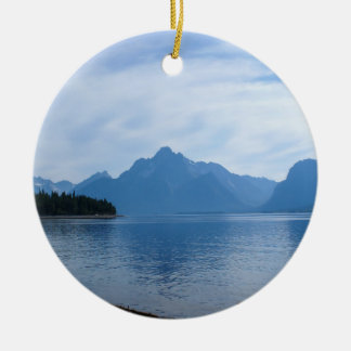 Teton Beauty Ceramic Ornament