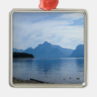 Teton Beauty Metal Ornament