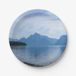 Teton Beauty Paper Plate