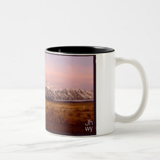 TETON MORNING Two-Tone COFFEE MUG