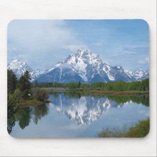 Teton Mountain Reflections Mouse Pad