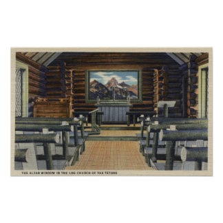 Teton National Park, WY - The Alter Poster
