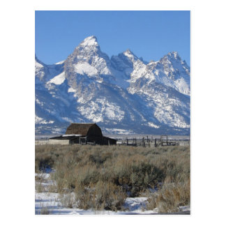 Teton Ranch Postcard