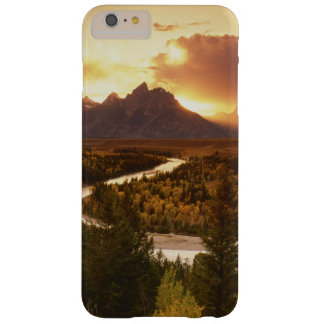 Teton Range at sunset, from Snake River Barely There iPhone 6 Plus Case