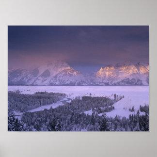Teton Range from Snake River Overlook, Grand Print