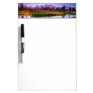Teton Sunrise Dry-Erase Boards