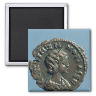 Tetrachm  of Zenobia, Queen of Palmyra Square Magnet