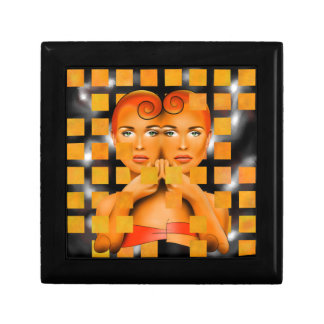 Tetrathos V1 - heart head Gift Box
