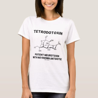 Tetrodotoxin Potent Neurotoxin With No Antidote T-Shirt