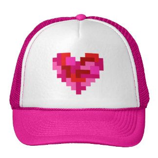 Tetromino Heart Hat