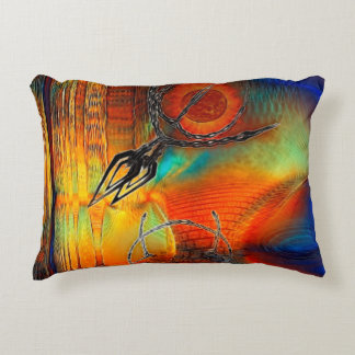 Tetrus Abstract Accent Cushion