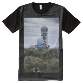 Teufelsberg 01.2, BERLIN All-Over Print T-Shirt