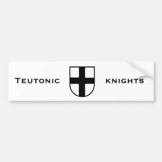 Teutonic Knights Bumper Sticker