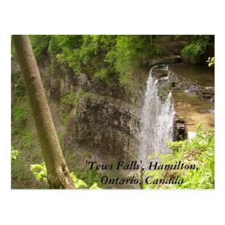 'Tews Falls', Hamilton, Ont... Postcard