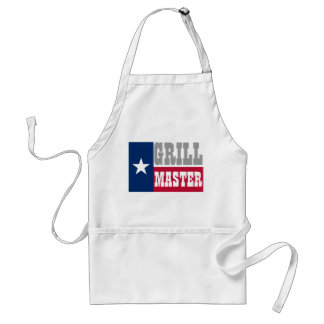 Texan BBQ apron for grill masters | Texas flag