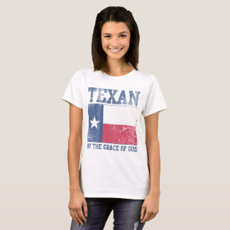 Texan by the Grace of God T-Shirt