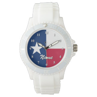 Texan flag watches | Personalizable with name
