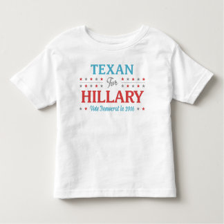 Texan for Hillary Toddler T-Shirt