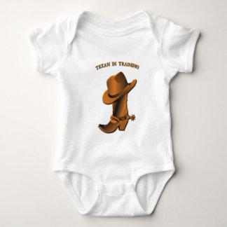 Texan in Training Baby Bodysuit