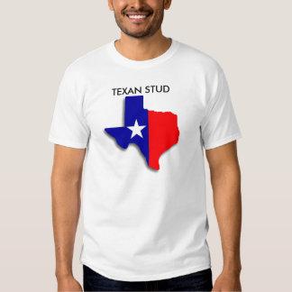Texan Stud State Map Lone Star Men's T-Shirt
