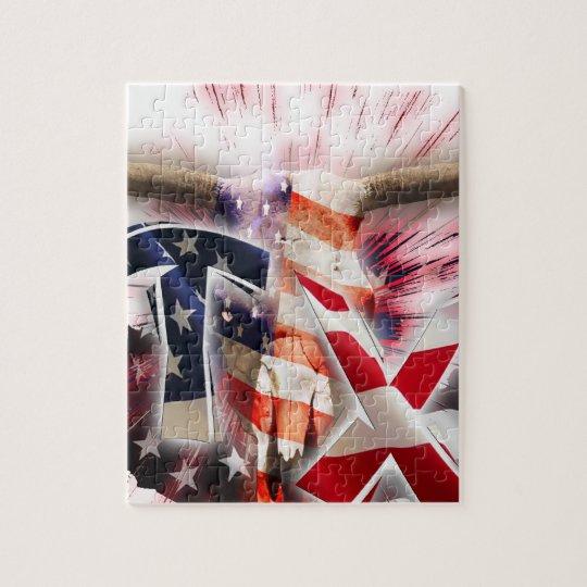 texan texas jigsaw puzzle