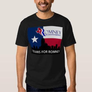 Texans for Romney Tee Shirt