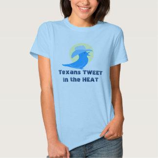 Texans TWEETin the HEAT T Shirt