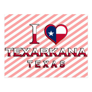 Texarkana, Texas Postcard