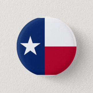 Texas 3 Cm Round Badge