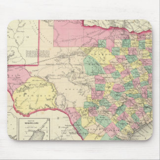 Texas 4 mouse pad