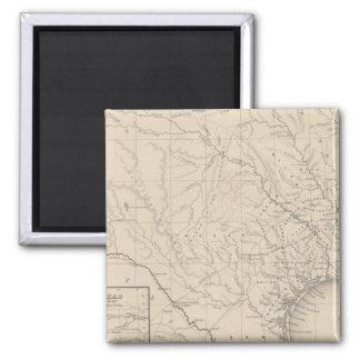 Texas 8 square magnet