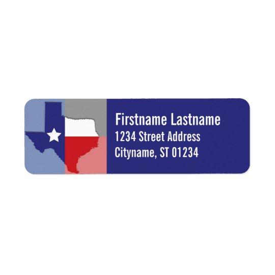 Texas Address Labels