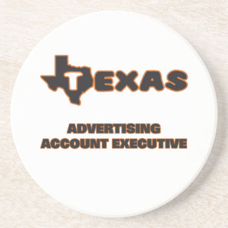 Texas Advertising Account Executive Drink Coasters