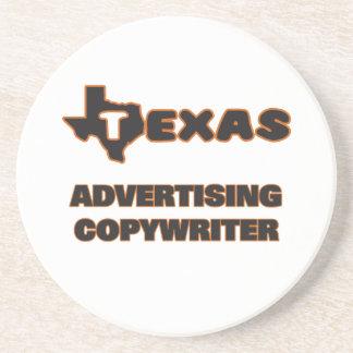 Texas Advertising Copywriter Drink Coaster