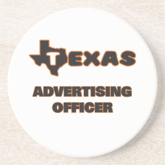 Texas Advertising Officer Coasters