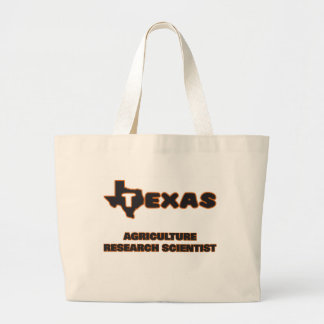 Texas Agriculture Research Scientist Jumbo Tote Bag