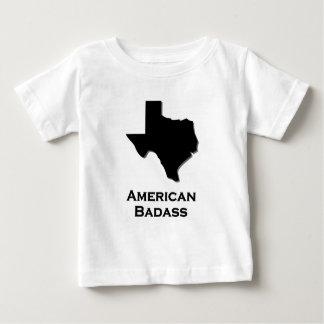 Texas American Badass black Baby T-Shirt