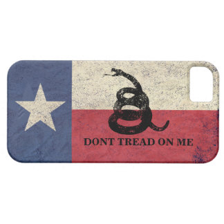 Texas and Gadsden Flag Barely There iPhone 5 Case