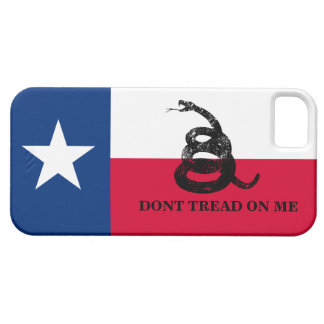 Texas and Gadsden Flag iPhone 5 Covers