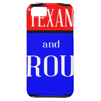 Texas And Proud iPhone 5 Cover
