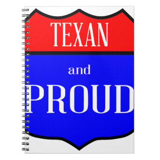 Texas And Proud Notebook
