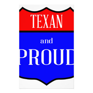 Texas And Proud Stationery