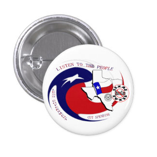 Texas Anti ObamaCare Pinback Buttons