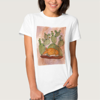Texas Armadillo T Shirts